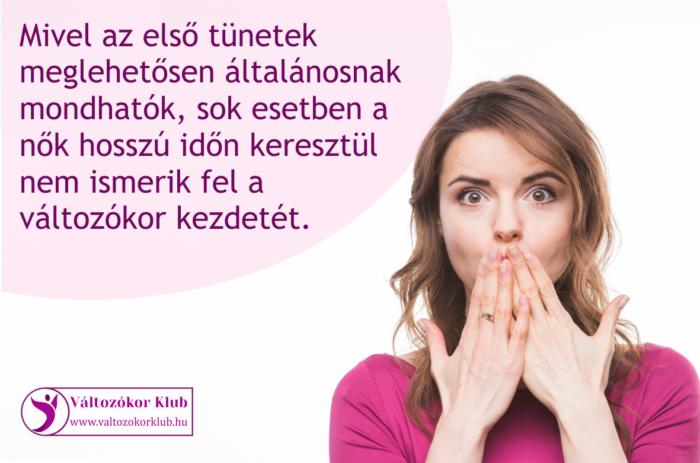 A termékeny évek végét jelző utolsó menstruáció a nők élete közepén, valamikor az 50. születésnap körül következik be.