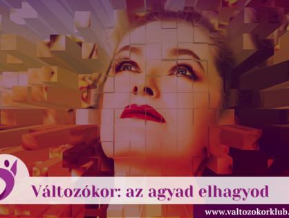 VÁLTOZÓKOR: AZ AGYAD ELHAGYOD...